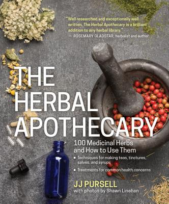 Cover of the Herbal Apothecary, a great reference guide for the herbal medicine book shelf