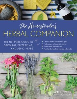 photo of cover of The Homesteading Herbal Companion, an excellent herbal reference guide