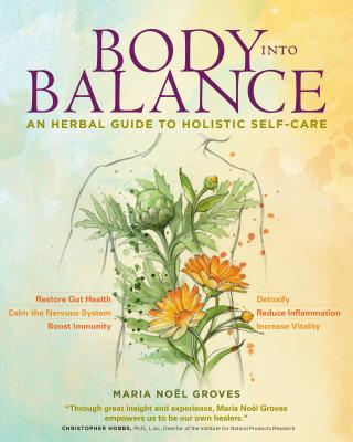 Photo of cover of Body Into Balance, an excellent herbal medicine book
