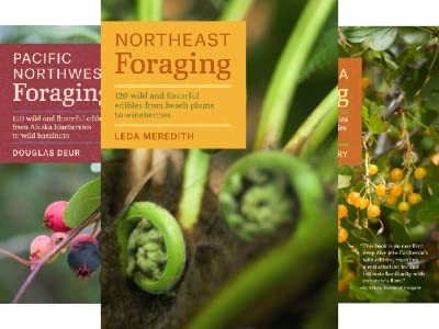 photo of 3 regional foraging books